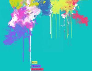 油漆涂抹喷溅Photoshop笔刷素材