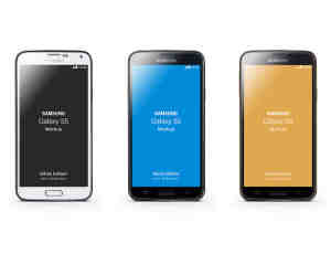 三星Galaxy S5 手机模型PSD素材下载