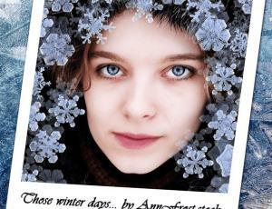 真实的冰晶、雪花PS雪景笔刷
