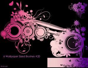 非主流时尚花纹照片装饰Photoshop美图笔刷 #.2