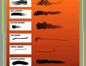 2015最新photoshop画笔笔刷素材