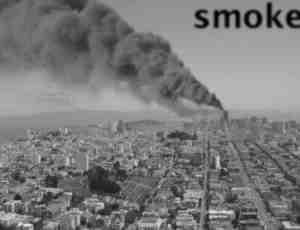 浓烟滚滚Photoshop烟雾笔刷
