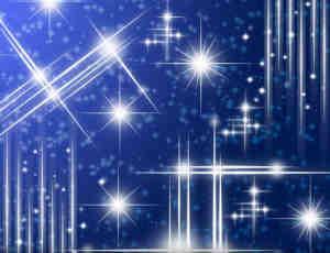 星星、星光、闪烁等梦幻背景Photoshop笔刷