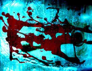 真实血液痕迹、血污纹理Photoshop笔刷 #.2