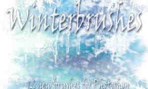 冰天雪地霜冻、结冰效果Photoshop笔刷素材
