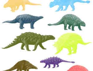 恐龙造型Photoshop笔刷素材 #.2