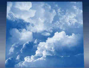 高品质白色云朵PS笔刷#.3