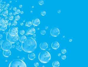 仿真半透明气泡、水泡Photoshop笔刷素材