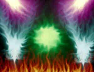 火焰喷射、火光冲天效果Photoshop笔刷素材