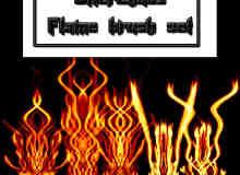 火焰怪物效果Photoshop笔刷素材