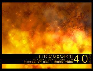 火焰爆炸、剧烈燃烧效果Photoshop笔刷