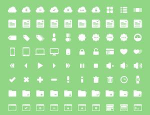 240个漂亮的Web用UI小图标素材PNG透明格式下载