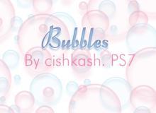 半透明气泡、水泡、泡泡效果Photoshop笔刷