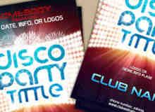 俱乐部宣传海报、广告PSD模版素材下载