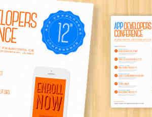 广告传单模版PSD素材免费下载