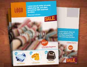 营销广告传单PSD模版素材下载