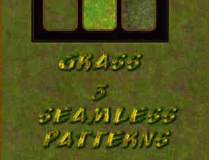 3种苔藓、绿皮纹理Photoshop填充素材