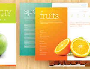 广告宣传手册PSD模版素材下载