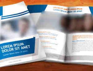 公司产品书PSD模版素材下载