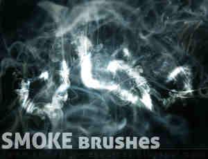 高级烟雾效果PS笔刷