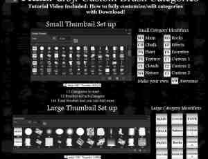 超大量包:免费Photoshop笔刷素材下载