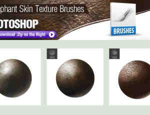 3种动物皮肤纹理效果Photoshop笔刷素材