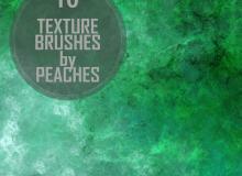 玉器、翡翠、石材纹理Photoshop材质笔刷
