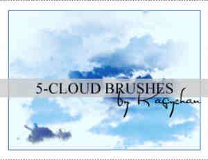 天空云朵效果PS笔刷