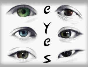 28个漂亮的眼睛Photoshop人体笔刷