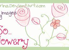 11种手绘艺术花纹图案PS笔刷(图片素材)