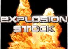 15张真实的爆炸、爆破效果图片PS笔刷素材(原版未抠图)