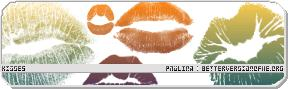 女性性感的唇印、口红印记Photoshop笔刷