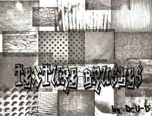 18种墙壁贴纸纹理、房屋墙面Photoshop背景笔刷