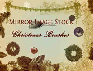 快乐圣诞节装饰Photoshop节日笔刷