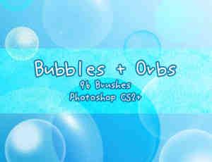 泡泡、泡泡、球体Photoshop笔刷下载