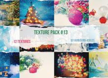 12张圣诞节背景图片素材下载(PNG格式)