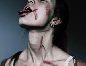 仿真伤口、伤痕纹理、受伤痕迹PS笔刷下载