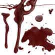 血液、滴血Photoshop血笔刷
