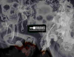 烟雾、魔鬼烟雾、烟尘PS笔刷下载