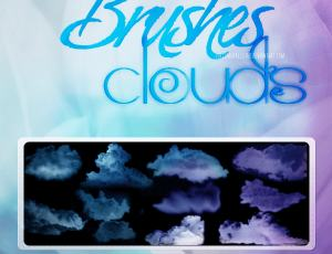 高清云层、云朵PS云笔刷下载