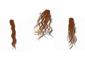 女式长发发型、飘发PS笔刷下载