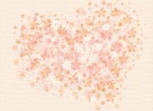 小清新文艺范印花、植物花朵图案Photoshop笔刷素材下载