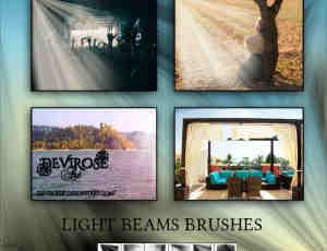 丁达尔效应光影特效、射线、照射Photoshop光线笔刷