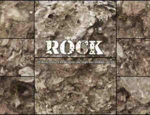 20种高清岩石纹理PS笔刷 abr vol.10 #.2