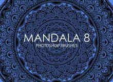 免费的Mandala曼荼罗Photoshop笔刷