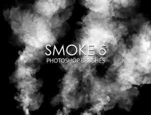 15个高质量的烟雾效果Photoshop水蒸气笔刷