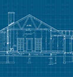 20种建设图纸、房屋蓝图photoshop笔刷素材下载-建筑笔刷