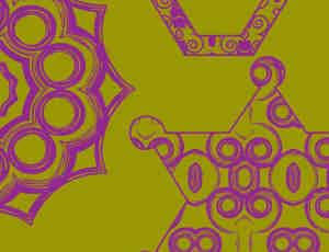 非主流星型图形PS自定义形状素材