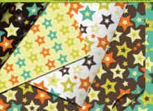 七彩星星、五角星符号Photoshop图案底纹素材.pat