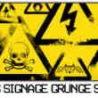 危险品警告、警示标识图形Photoshop笔刷下载